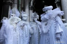venice italy carnival | Venice Italy Carnival 2013 | carnival in Venice, Italy, on Feb. 10 ...