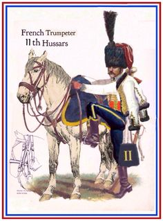 French trumpeter 11th Hussars
