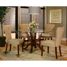 Inspired Dining Rooms on Pinterest  Dining room sets, Round dining ...