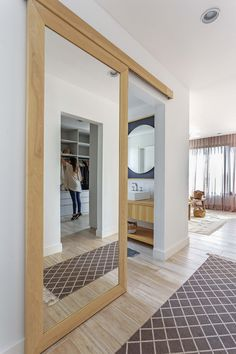 How to Replace Interior Doors on a Budget Master Room, Small Room Bedroom, Kitchen Room Design, Interior Design Living Room, Bedroom Bed Design, Bedroom Decor, Sliding Door Design, Barn Door Designs, Secret Rooms