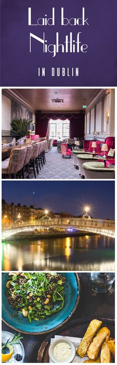 Glamor, nature, music and more: Dublin's nightlife is so much more than meets the eye. See the city from the water aboard the Canal Boat Restaurant, enjoy a night at the movies in style at the Stella Theatre or laugh 'til your sides hurt with stand-up comedy at The Laughter Lounge. There's something to entertain everyone! Click the pin for more…