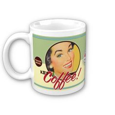"""KB's Coffee"" Mugs ... Served PIPING HOT!"