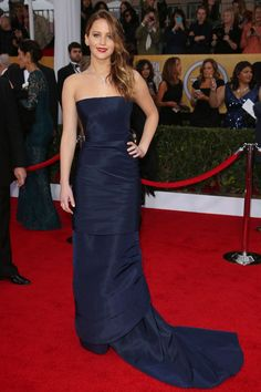 Jennifer Lawrence in Christian Dior Couture, SAG Awards 2013