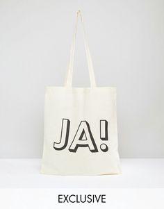 Reclaimed Vintage   Reclaimed Vintage Tote Bag JA!