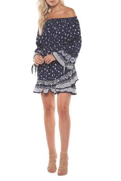 add your favourite shoes and hit the town in this flirty navy, bandana print number. Dex Southwest Sweetheart.  #dress #outfits #style #fashion #womensfashion #affiliate