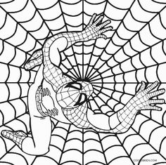 printable coloring pages for preschoolers printable toddler ... - Spiderman Coloring Pages Print
