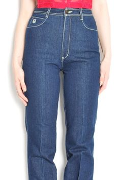 Vintage 70s jeans blue ExtraLong Leg S NOS jeans xs bI9l6