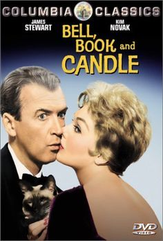 Bell Book and Candle - Kim Novak & Jimmy Stewart - 1958  What a fun movie!