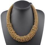 Bohemian Choker Handmade Woven Necklace – Anna Kay & Co. Rope Jewelry, Bohemia Style, Summer Necklace, Acrylic Beads, Ethnic Fashion, Anna, Beaded Necklace, Chokers, Bohemian