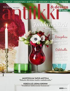Antiikki & Design 10/2018. Kuvaussuunnitelma Irene Wichmann. Valokuva Pia Inberg.