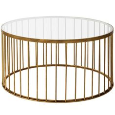 This beautiful coffee table by Brass Brothers features a clear glass top supported by a delicate cage construction cast in natural brass. Fits particularly well with the Set of 3 Brass Cage Stools. Lift Up Coffee Table, Black Coffee Tables, Brass Coffee Table, Modern Coffee Tables, Modern Table, Nyc Coffee Shop, Home Coffee Machines, Coffee Cocktails, Art Furniture