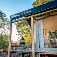 It might be time to go for a glamping weekend in the bush again! River Lodge, Ultimate Travel, Nature Reserve, Lodges, Glamping, South Africa, To Go, Island, Luxury