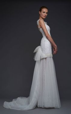 Here is the part II of the gorgeous Victoria KyriaKides wedding dresses. Gorgeous Wedding Dress, White Wedding Dresses, Bridal Dresses, Wedding Gowns, Mod Wedding, Wedding Bride, Dresser, Wedding Dress Sleeves, Bride Look