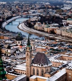 Salzburg, Austria  I love this city, they have managed to cherish their history while being a strong 21st century city!