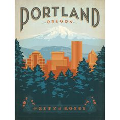 Portland: City of Roses  by Julian Baker and Joel Anderson