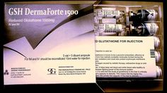 GSH Derma Forte 1500mg Injections are rich in glutathione, these injections contain amino acids which improve the skin as well as the overall health. Counting as a major benefit, glutathione has many antioxidant properties that enhance the system immunity along with metabolizing toxins and carcinogens. Not only for fairness, but this ingredient has exceptional benefits and act as a guard against many severe health conditions like diabetes, cancer, and liver disease.