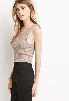 Ribbed Knit Crop Top | Forever 21 - 2000183692