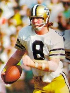 Archie Manning guides the Saints to 7-9. Ole Miss Football, Nfl Football Players, Best Football Team, School Football, National Football League, Football Pics, Football Memes, Nfl Saints, New Orleans Saints Football