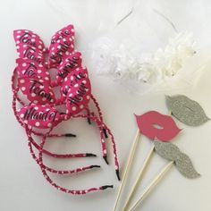 Bachelorette Headbands Bunny ears Bride Tiara Bridesmaid Hair Accessories Bunny ears Bridesmaid Team Bride Bachelorette Party LOVE M Bridesmaid Headband, Bride Headband, Bridesmaid Hair Accessories, Bridesmaid Gifts, Headbands, Honeymoon Essentials, Bachelorette Sash, Bride Tiara, Team Bride