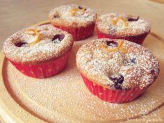 Muffins de arándanos.