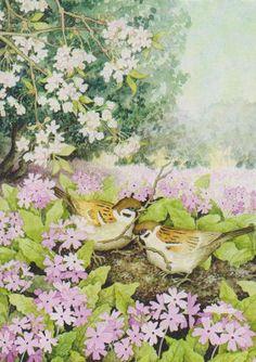 Birds and nest, via Flickr.