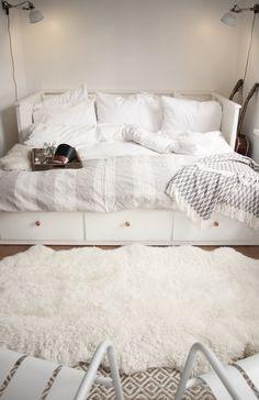 A Good Book + A Cozy Nook. Ikea Hemnes ...