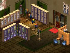 Trade Room #5 - Clothing Stop: Everything from Top to Bottom -- Complete with it's own dressing room.  Constantly changing, so you'll have to visit to see what's available.
