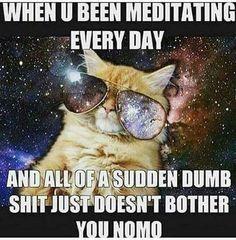 Spiritual Awakening Meditation Meme