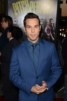 Skylar Astin. Pitch perfect is byfar one of the best movies i have ever seen.