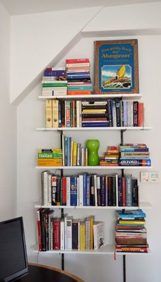 This Common Furniture Item Is Actually A Huge Space Hog Bookshelves For Small SpacesCraft Storage Ideas