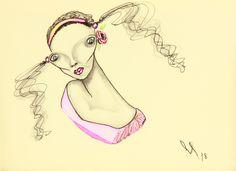 Saatchi Art, Ink, Rose, Drawings, Artist, Artworks, Prints, Pink, Artists