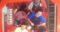 Irish tourist visiting Abu Dhabi takes taxi driver to Ferrari World theme park to 'make his dreams come true' - Weird News - News - The Independent Roller Coaster Ride, Roller Coasters, Irish News, Dubai Tour, Ferrari World, Good News Stories, Dubai Travel, Weird News, Taxi Driver