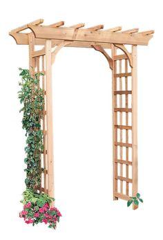 Image result for pergola arches small gardens