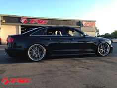 2013 Audi S6 on 21 ADV.1 wheels and lowered - TAG Motorsports