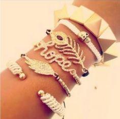 I love love loooove bracelet s