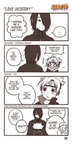 Naruto Doujinshi - Love (Hi)Story by SmartChocoBear on @DeviantArt