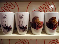 Eisbär und Löwe: MQ Häferl diverse Tiere um € 8,90 im #MQ Point.