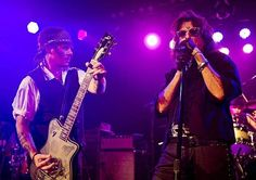Founders: Johnny and his pal Alice decided to form the group three years ago, taking name inspiration from the infamous drinking club on the Sunset Strip, which included John Lennon and Jim Morrison The Hollywood Vampires, In Hollywood, Johnny Was, Johnny Depp, Perry Farrell, Rock Anthems, Paris Jackson, Guitar Collection, Rock Concert