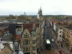 Oxford, UK city center.