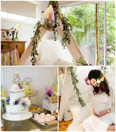 Don't miss these stunning Boho Baby Shower Ideas!! http://www.karaspartyideas.com/2015/12/oh-baby-boho-chic-baby-shower.html
