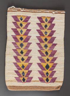 ~ Plateau Twined Cornhusk Bag,  c. 1900
