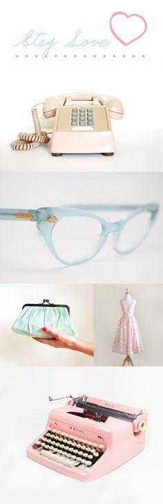 Etsylove-superkitina-pastel-vintage. I want these frames.