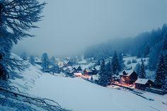 Winter village by Malte Karger on 500px