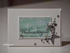 stampin with beemybear, StampinUp, Christmas Card, Weihnachten