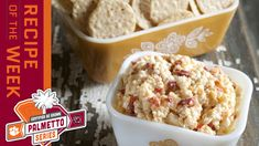 Certified SC Grown Pimento Cheese| Palmetto Series Appetizer Dips, Appetizers For Party, Appetizer Recipes, Pecan Pie Cobbler, Pimento Cheese, Tailgating Recipes, Game Day Food, Sandwiches, Favorite Recipes