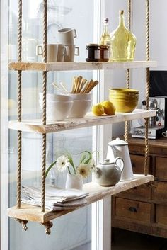 Artistic display, which can add visual interest, personality, and rustic touches to any space!  | decorhomeideasbest.com