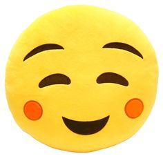 I'm So Cute Emoji Pillow