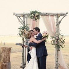 So many rustic and romantic details in this Montana ranch wedding captured by Michèle M. Waite Photography!