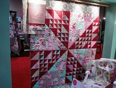 From Tula Pink's Booth at Market 2010 Houston