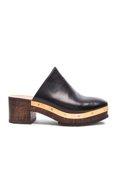 ROSETTA GETTY Mule Clog. #rosettagetty #shoes #